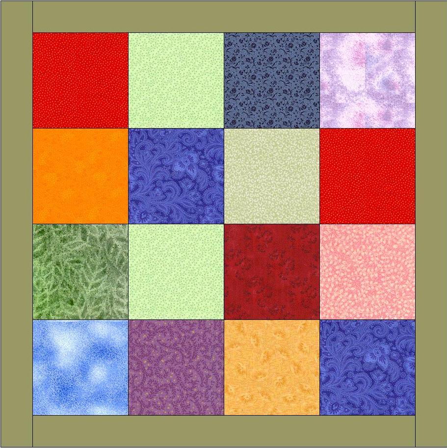 Техника лоскутного шитья квадраты