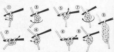 вязаный шнур крючком