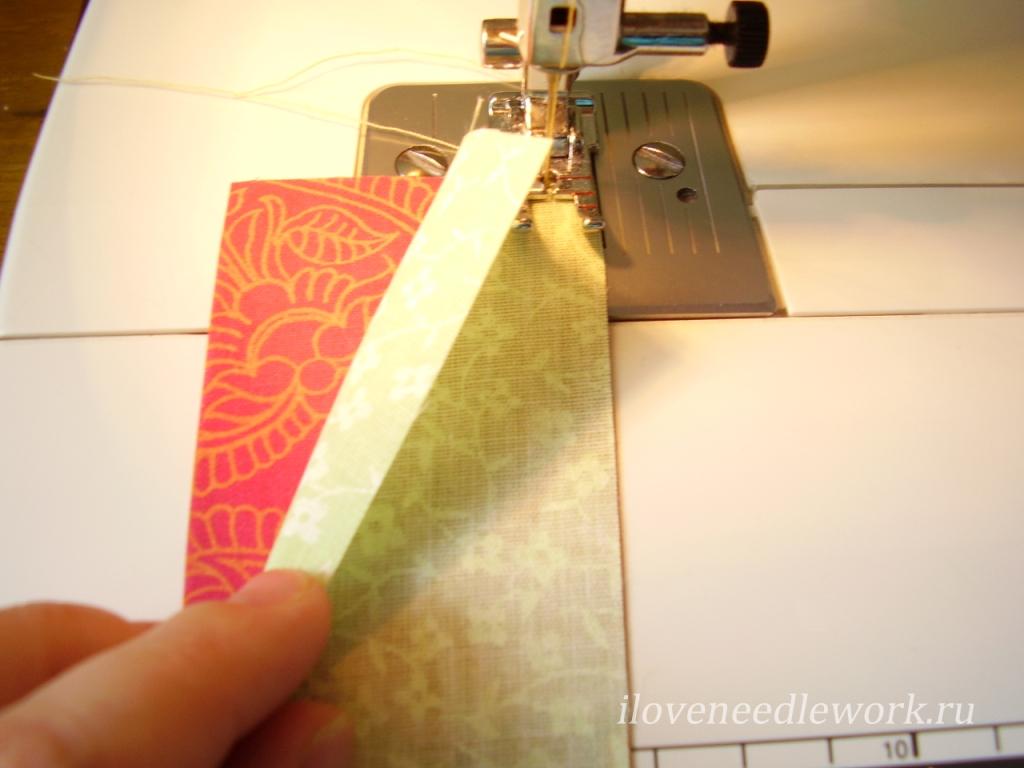 шитье из полос