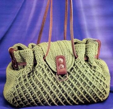 вязанные сумки фото