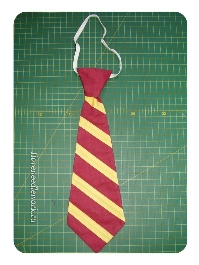 детский галстук +на резинке
