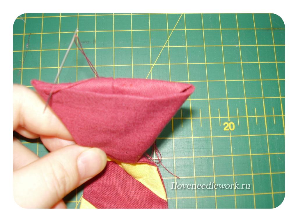 как сшить галстук на резинке