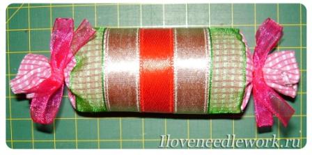 новогодние игрушки текстильные